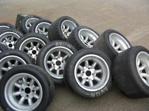 En del hjul att göra rena...!
