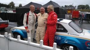Strålande avslut på säsongen.En vinst och en andraplats. Erik Höjer gjorde också en storartade körning i regnet.