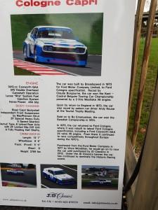 Var tvungen kommentera skylten. Fel information. EMMA vann inte SM och det var vi som byggde om bilen med GA motor, inte fabriken i Köln!